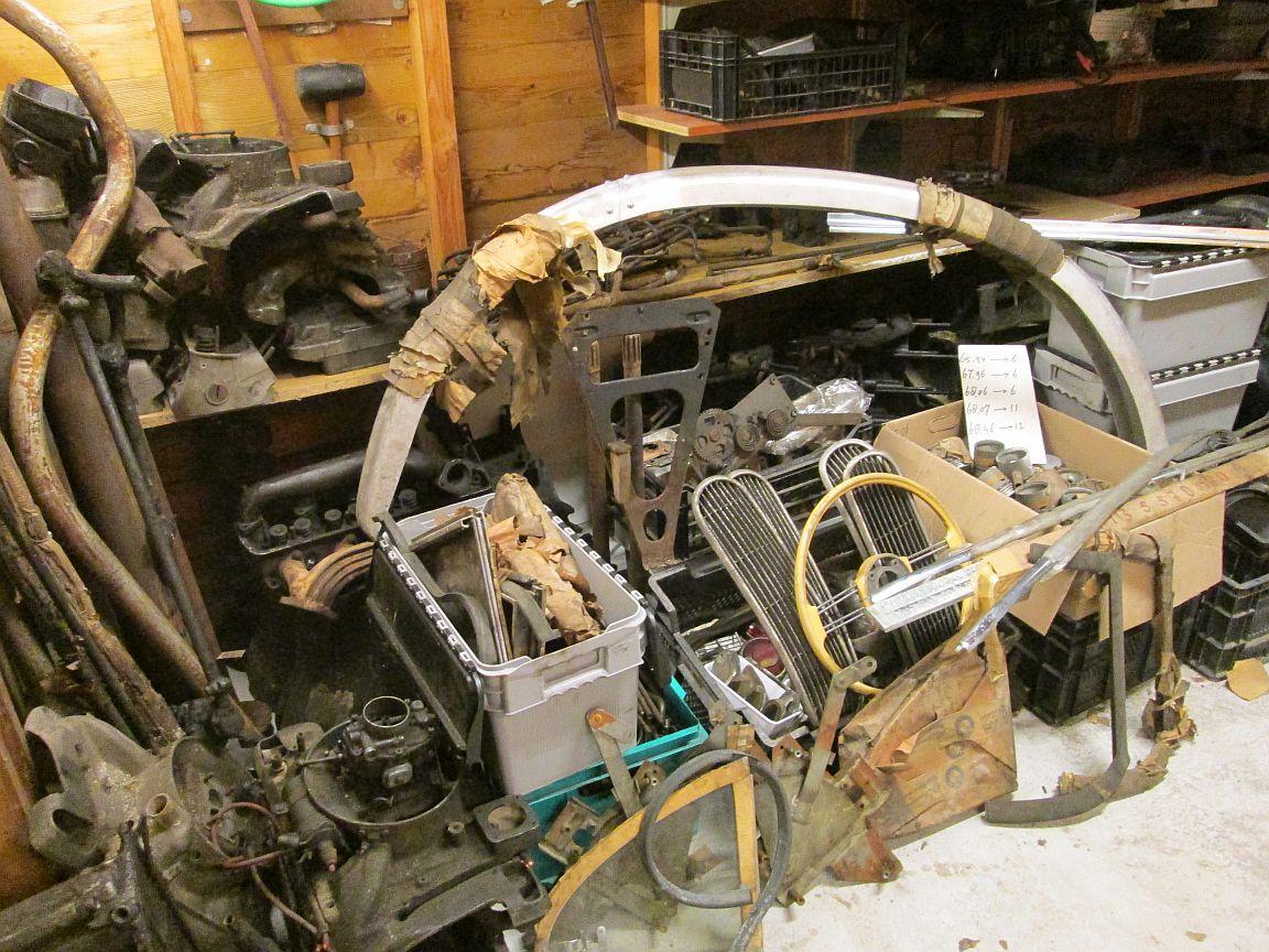 BMW 501-502 onderdelen